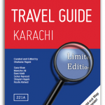 Title, Travel Guide Karachi, catalogue size 5 x 7 inches