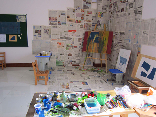 Studio at Elixir school, work in progress