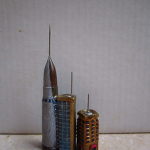 Individual detail of Bullet shell buildings