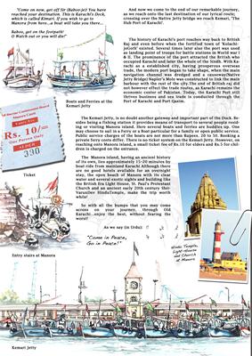 Travelogue Karachi, page 6